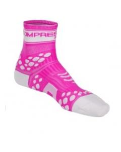 Calzini Compressport Pro Racing Socks Fluo