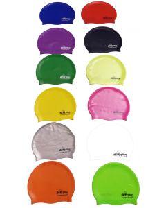 Cuffia Nuoto Extremo Classic logo silicone