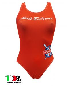 Costume donna LIFEGUARD Nuoto Extremo BAYWATCH