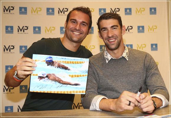 Niccolo Beni e Michael Phelps
